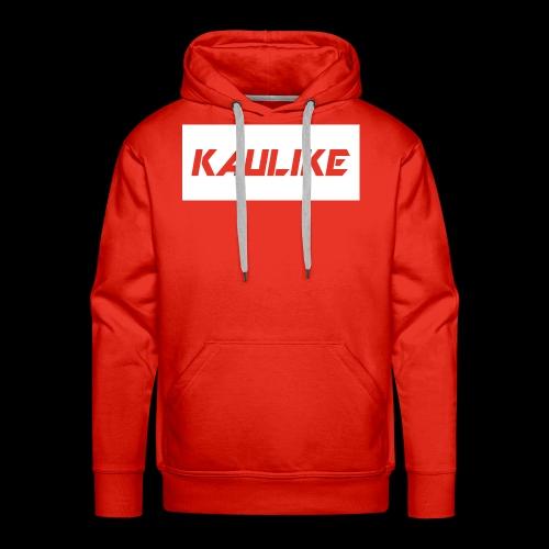 Black hoodie & Red shirt - Men's Premium Hoodie