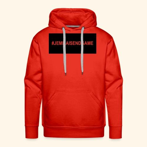 #JEMMAISENDGAME CASE - Men's Premium Hoodie