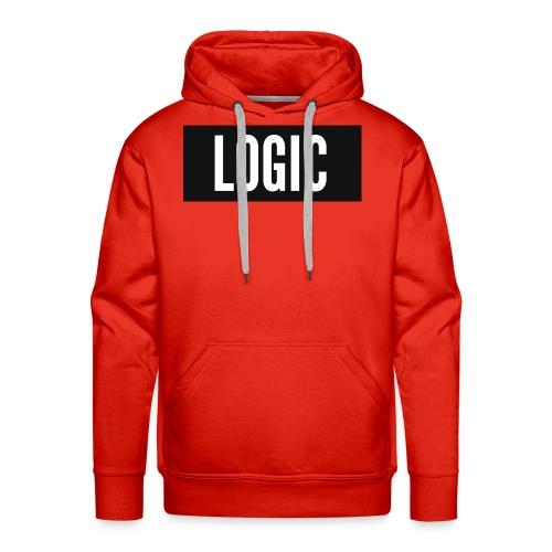 Logic Bold Logo - Men's Premium Hoodie
