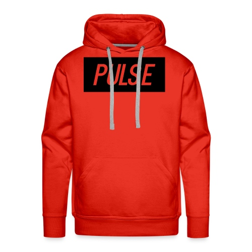 Pulse box logo - Men's Premium Hoodie