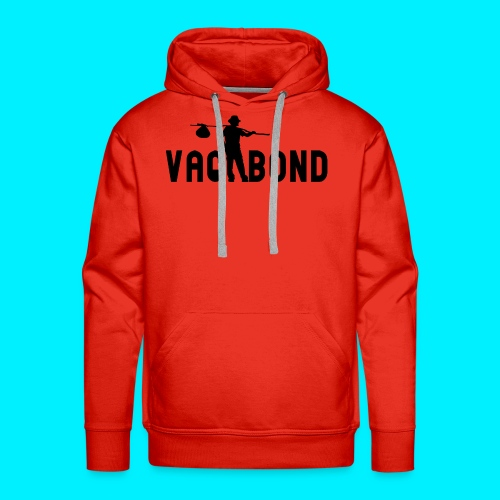 Vagabond Logo Wide - Men's Premium Hoodie