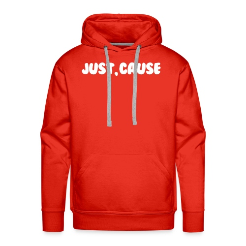 Just Cause Mens T-Shirt - Men's Premium Hoodie