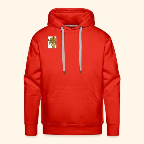 **NEW** Red White AND BLACK Tiger Merch - Men's Premium Hoodie
