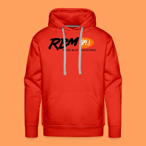 RBM Logo - Orange - Men's Premium Hoodie