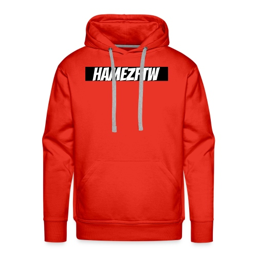 pink-youtube-banner-template_18772 - Men's Premium Hoodie