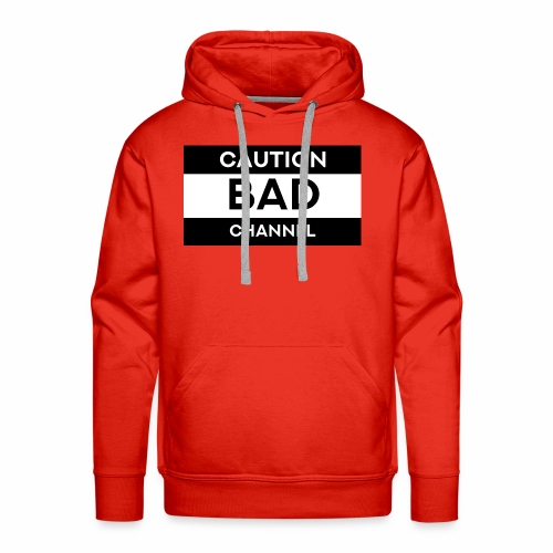 Caution Bad Channel - Men's Premium Hoodie