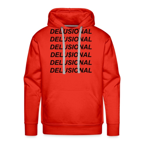 delusional julia jordan merch - Men's Premium Hoodie