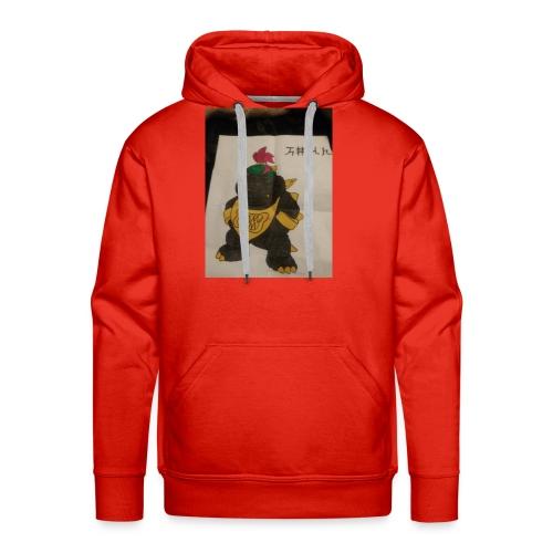 Black Bowser jr. gangster - Men's Premium Hoodie