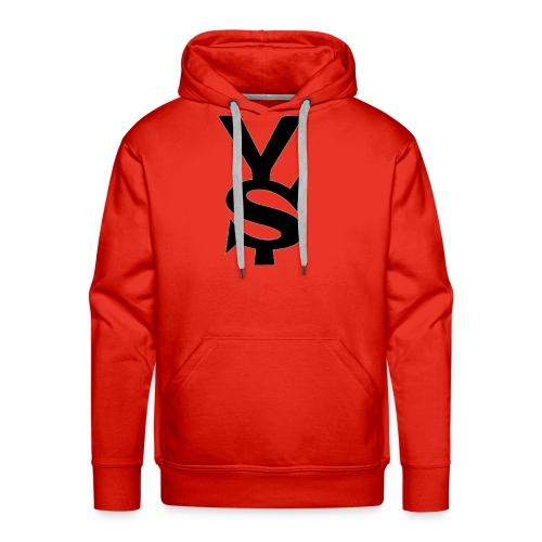 Black Yong Soul Logo - Men's Premium Hoodie