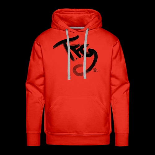 T.f.g Mide logo - Men's Premium Hoodie