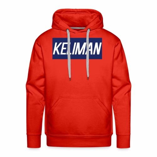 KeliMan Logo V1 - Men's Premium Hoodie