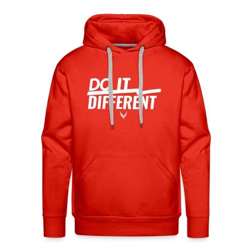 Do It Different merch by Maverick Apparel - Men's Premium Hoodie