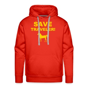 Save Traveler - Men's Premium Hoodie