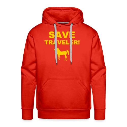 Save Traveler - Men's Premium Hoodie