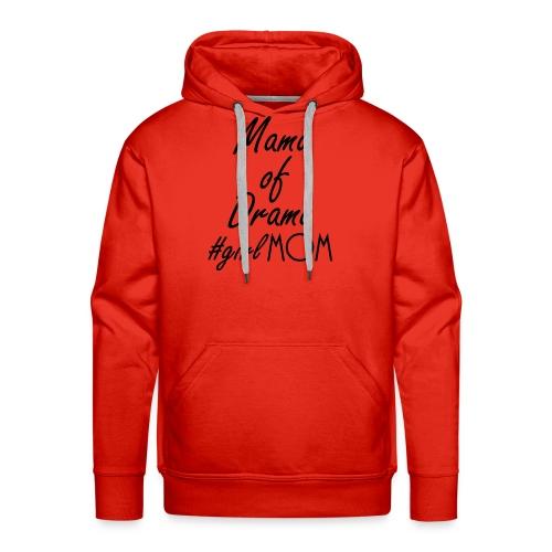 Girl mom black - Men's Premium Hoodie
