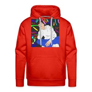 Adam graffiti - Men's Premium Hoodie