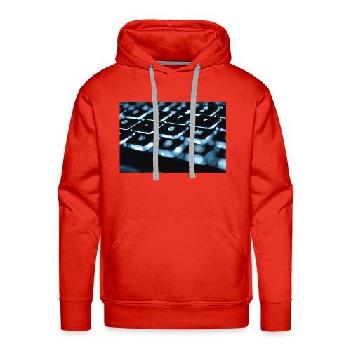 Glowing Keyboard - Men's Premium Hoodie