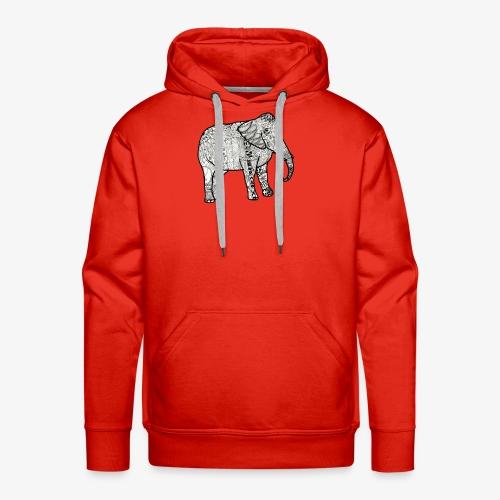 Elephant - Men's Premium Hoodie