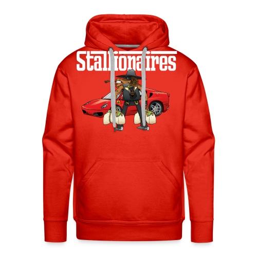 STALLIONAIRES TEE2 01 - Men's Premium Hoodie