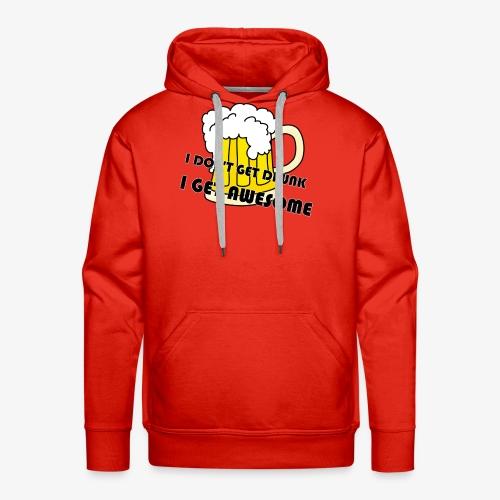 Drunk - Men's Premium Hoodie