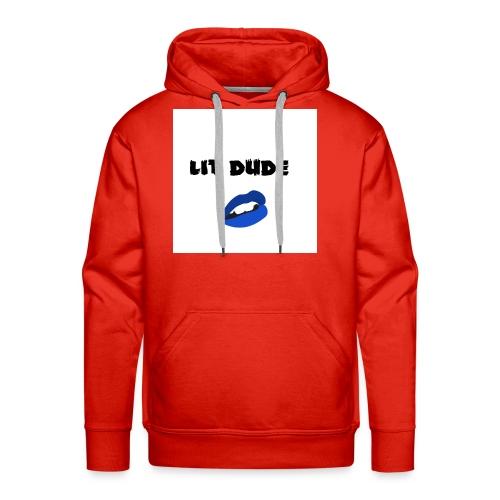 Lit dude - Men's Premium Hoodie