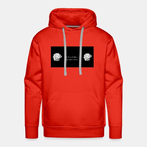No matter how much pain you going through it be ok - Men's Premium Hoodie