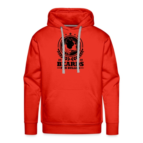 Official black logo - Men's Premium Hoodie