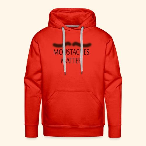 Movember Matters - Men's Premium Hoodie