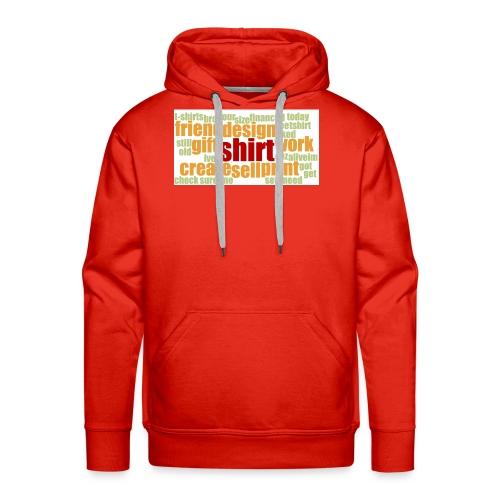 HotjarHomepagePoll2015 - Men's Premium Hoodie