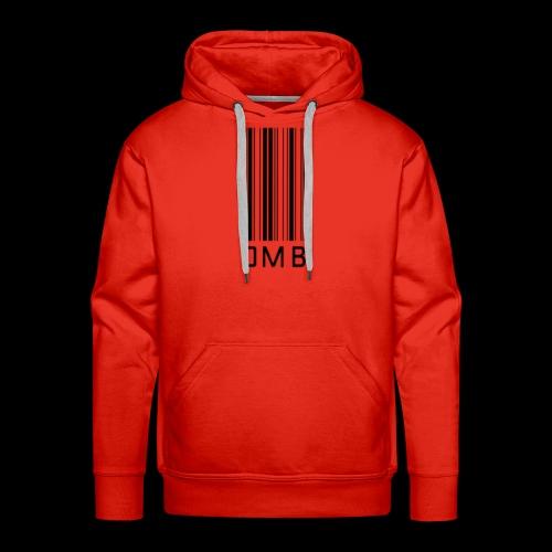 Omb-barcode - Men's Premium Hoodie