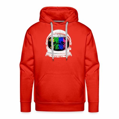Astronaut Pug T-Shirt - Men's Premium Hoodie