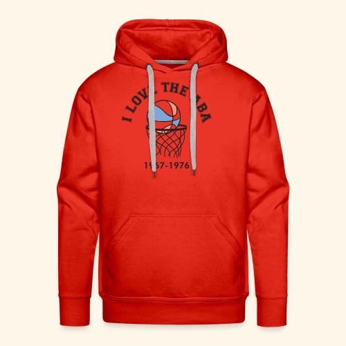 I Love the ABA - Men's Premium Hoodie