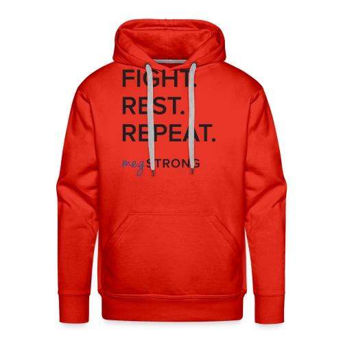 Fight Rest Repeat - Men's Premium Hoodie