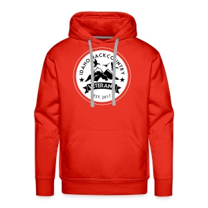 idaho hunting and fishing vets - Men's Premium Hoodie
