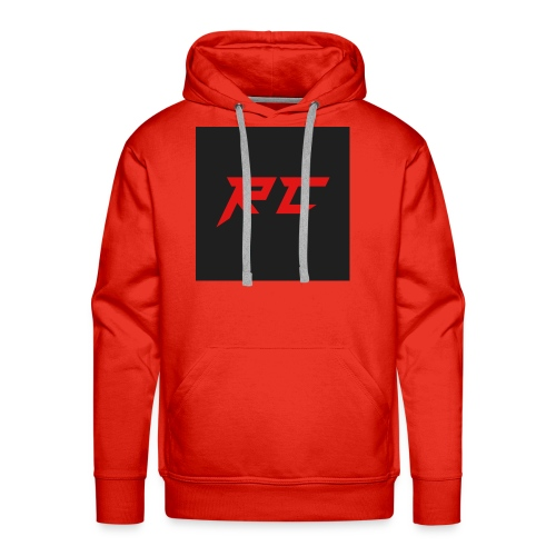 RED RC Logo - Men's Premium Hoodie