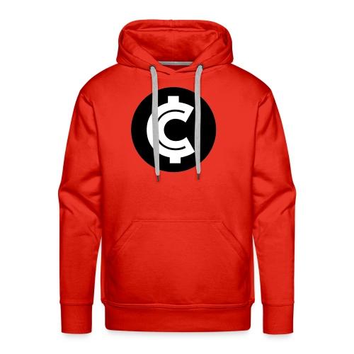 Crypto Coin RIch Logo - Men's Premium Hoodie