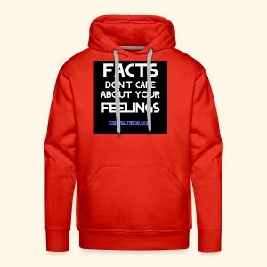 Facts Don't Care - Men's Premium Hoodie