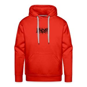KHOST BLACK LETTERING - Men's Premium Hoodie