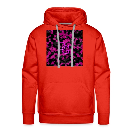 pink camo - Men's Premium Hoodie