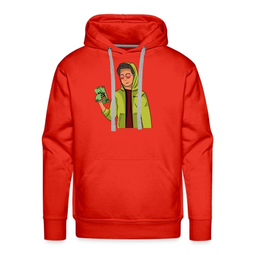 iCarriedYou Drawn Out - Men's Premium Hoodie