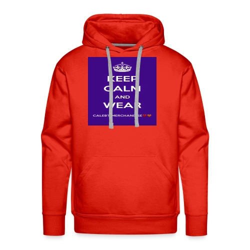 Keep Calm And Wear Caleb's Merchandise - Men's Premium Hoodie