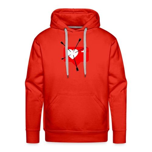 Valentines Day Tee - Men's Premium Hoodie