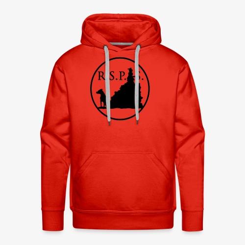 RSPS logo Circle black - Men's Premium Hoodie