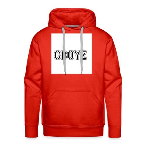 C Boyz logo - Men's Premium Hoodie