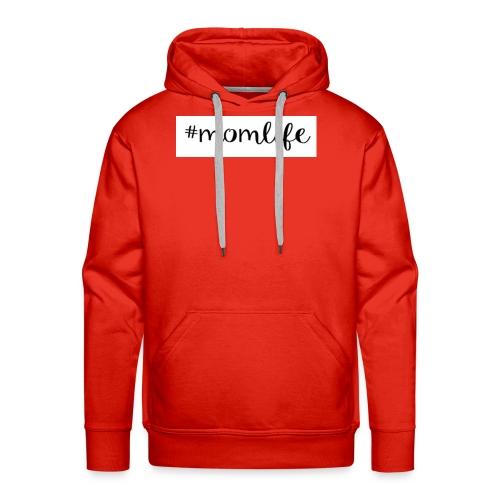 #momlife - Men's Premium Hoodie