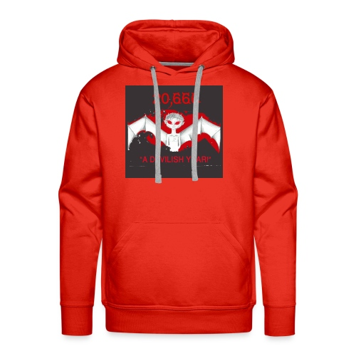 A Devilish Year T-Shirt - Men's Premium Hoodie