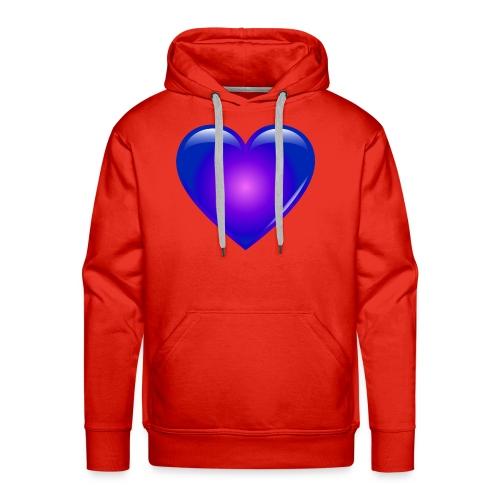 Blue Heart - Men's Premium Hoodie