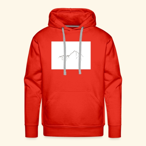 Tiny Mountain - Men's Premium Hoodie