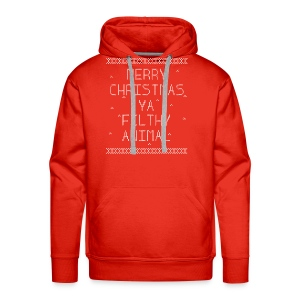Merry Christmas Filthy Animals - Men's Premium Hoodie