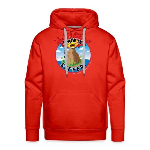 ShowUpandSuffer_Volcano_P4D_colors - Men's Premium Hoodie